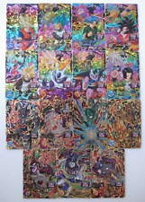 Super Dragon Ball HEROES UM3 Lot 75 Cards CP XCP SR R C Complete Full Set NEW FS