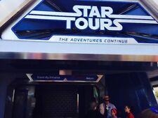 "OFFICIAL 3D STAR WARS TOURS RIDE DISNEYLAND GLASSES ""CAST MEMBERS"""