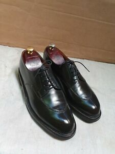 """Chaussures """" J.M.Weston """" Tres Fonce Marron presque Noi 42,5 ( 9 D ) Demi Chasse"""