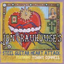 Rauhouse, Jon-Steel Guitar Heart Attack CD   New