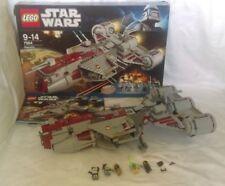 Lego Star Wars Republic Frigate 7964 100% Complete Mini Figures Box Instructions