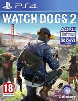 Watch Dogs 2 PS4 - MINT -  Same Day Dispatch  via SUPER FAST DELIVERY
