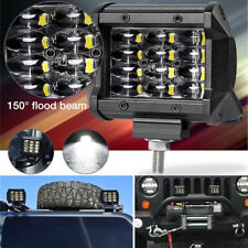 2* Car Fog Driving Daylight LED Head Waterproof Ultra-thin Lamp Work Bar Light