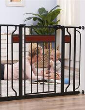 BABY SAFETY GATE Door Walk Extra Wide Child Toddler Thru Fence Pet Dog Meta NEW