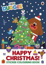 Hey Duggee: Happy Christmas! Sticker Colouring Book, Ladybird