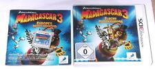 """NINTENDO 3DS SPIEL """" MADAGASCAR 3 """" KOMPLETT"""