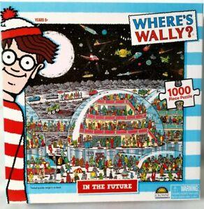NEW IN BOX Where's Wally?  In The Future - RARE - 1000 Piece Jigsaw Puzzle BRAND