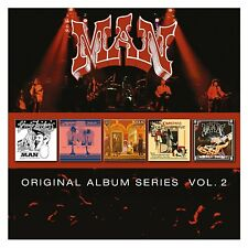 Man ORIGINAL ALBUM SERIES VOL 2 Back Into The Future LIVE AT THE PADGET New 5 CD
