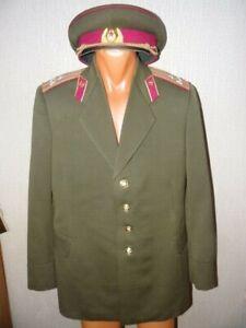 USSR Soviet army ceremonial suit Quartermaster Colonel color raspberry 195X -69