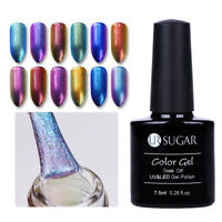 7.5ml Chameleon Nail Art Soak Off UV Gel Polish Varnish Base Top Coat UR SUGAR