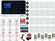 H75 WiFi APP GSM RFID IP Wireless Home Security Alarm Burglar System Auto Dialer