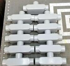 "(11) 5133565 Cantex - 1"" PVC Type T Condulet [C6S4]"