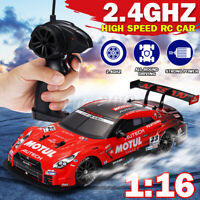 4WD 1:16 RC Cars High Speed 2.4GHz RC Drift Car Kids Toy With Remote Control