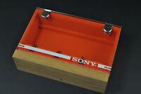 SONY Wood Headshell shell Cartridge Keeper Case Box Holder