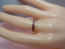 1144-750er Gelbgoldring mit Rubin  Ringgroße 53 Gewicht 3,5 gramm