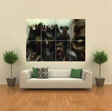 VECTOR GOTHIC ZOMBIE HORROR MONSTERS  GIANT POSTER WALL ART PRINT PICTURE G1212