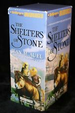 Earth's Children: The Shelters of Stone #5 by Jean M. Auel (2002, 20 Cassettes)