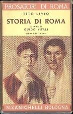 TITO LIVIO. Storia di Roma. Della 3a Deca (2a guerra punica). Libri XXVI e XXVI