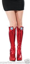 Avengers Captain America Adult Deluxe Boot Tops Marvel Comics NEW Rubies 32240