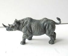 Austrian Bronze Bergman Rhino Cold Painted Bronze