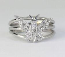 Anillos de joyería con diamantes i oro blanco