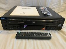 New listing —Serviced, Ready To Go!— Sony Mxd-D5C Md Minidisc Player / 5 Cd Changer w Remote