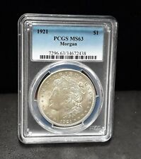 1921 Morgan Silver Dollar- PCGS MS63- Vam 41B Pitted Reverse!  Die Polish-  2438