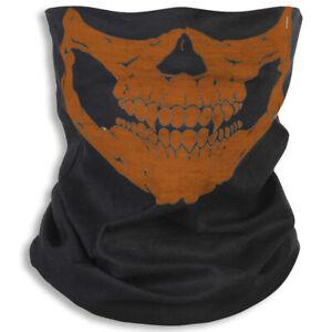 Skull Face Mask Bandana Cooling Breathable Scarf Neck Gaiter Headband Reusable