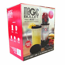 Magic Bullet Mini High Speed Blender/Mixer 6 Piece Set with Recipe Book