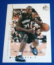2000 Upper Deck Authentic Basketball card Kevin GARNETT Minnesota Timberwolves