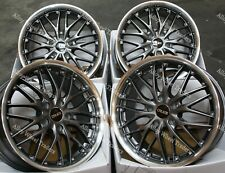 "Alloy Wheels 18"" 190 For 5x108 Ford Grand + C Max Edge Focus Galaxy GM"