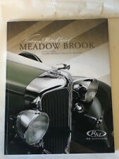 RM Sothebys Meadowbrook 2008 Cadillac Packard Ford Lincoln Car Auction Catalog