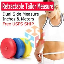 Tailors Measuring Tape Retractable Imperial Metric 60 Inch 1.5m Sewing Physician