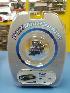 PTX MINI ENGINE LINCOLN CUSTOM ZEPHYR  429  CUBIC INCH  V-8 1:24 Scale