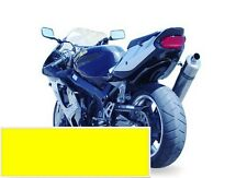 96-03 Kawasaki Ninja ZX7R ZX-7R Hotbodies ABS Undertail - Yellow 2001