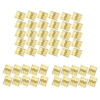 100 PCS Mini Brass Hinges Hardware 180 Degree Rotation for Dollhouse Miniat S3N6