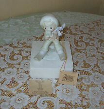 Precious Moments Porcelain Figurine, It's So Uplifting To Have A Friend Like You