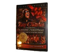 RAY CHARLES DVD + CD Set A Gospel Christmas (COLLECTORS ED) *NEW SEALED*