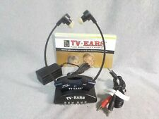 TV Ears 2.3 MHz Wireless TV Headset + Charger Base Transmitter
