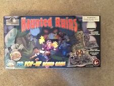 2008 Relic Raiders Haunted Ruins 3D Pop Up Board Game-VG Condition-Complete.