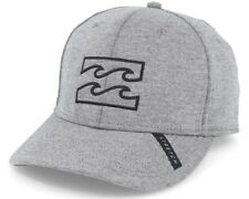 NEW + TAG BILLABONG MENS BOYS ALL DAY L-XL CURVED PEAK FLEXFIT CAP HAT GRAPHITE