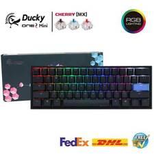 Ducky один 2 мини-механическая клавиатура 60% PBT двойной выстрел с RGB Cherry Mx переключатель