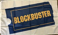 Blockbuster Video Flag 3x5 Banner Rental Movie Store Man Cave Theater