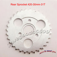 Rear Drive Chain Sprocket 420 31 Tooth 30mm For  Z50A Z50 Z50R Z50J Monkey Bike