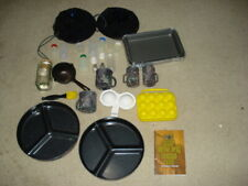 Camping Plates, Forks, Spoons, Knives, Bowls, Cups, Storage, shakers, Aluminum