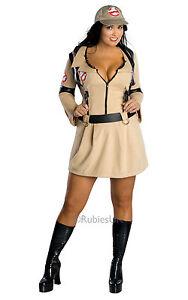 FANCY DRESS COSTUME ~ 80'S GHOSTBUSTERS LADY XL 16-18