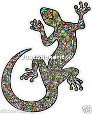 Colourful Gecko Lizard Bumper Sticker Car Ute Caravan Sticker Decal Ipad Tablet