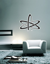 "Atheism Sign Wall Decal Large Vinyl Sticker 24"" x 20"""