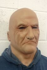 Realistic Man Mask Old Male Disguise Fancy Dress Bruiser Bouncer Latex SECONDS