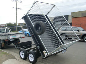 8x5 Tandem Tipper Trailer, Brand New Rim & Tyres (Made To Order Only)